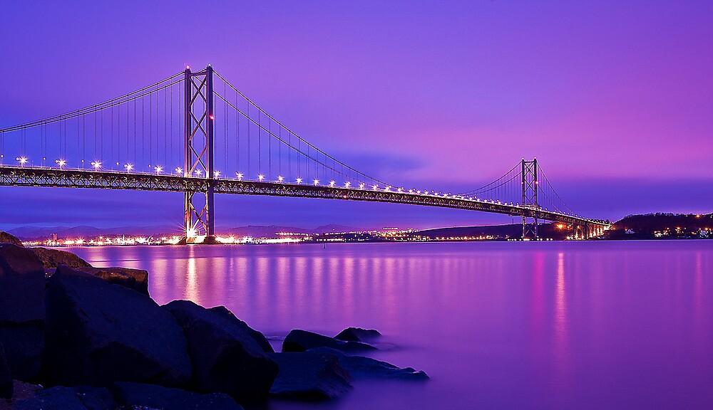 Forth Road Bridge by Don Alexander Lumsden (Echo7)