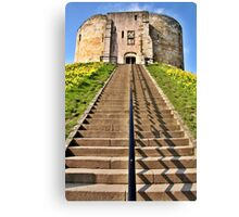 Clifford's Tower Symmetry Canvas Print