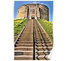 Clifford's Tower Symmetry Poster