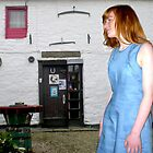 The Flax Mill...The Blue Linen Dress by oulgundog
