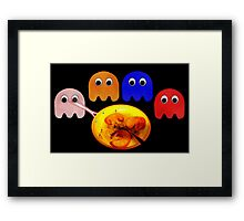 PAC-O-CIDE[without words] Framed Print