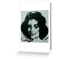 DAME ELIZABETH TAYLOR  1932-2011  Greeting Card