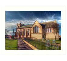 St Peter's Church Fleetwood - HDR Art Print