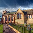 St Peter's Church Fleetwood - HDR by John Hare
