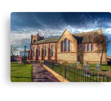 St Peter's Church Fleetwood - HDR Canvas Print