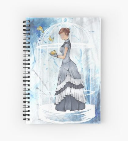 Birdcage Spiral Notebook