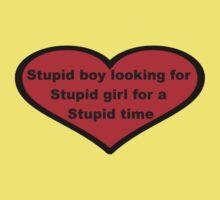 Stupid boy by shandab3ar