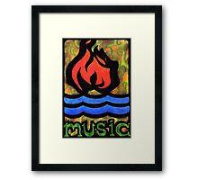 Hot Water Music Framed Print