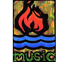 Hot Water Music Photographic Print