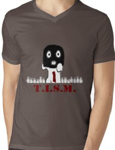 Run T.I.S.M, Run Mens V-Neck T-Shirt