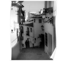 Alley in Altea Poster