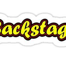 Backstage Sticker