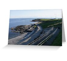Seawall Greeting Card
