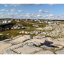 Peggy's Cove-A Different View Photographic Print