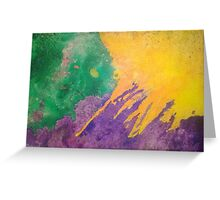 Sand Burst Greeting Card