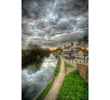 Moody Sunset At The Boat Inn Photographic Print