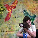 Kid & his dog by JudyBJ