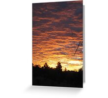 Mojave Desert Sunrise Greeting Card