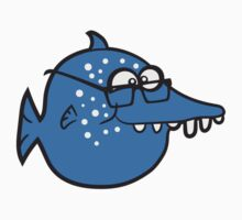 geek nerd hornbrille pimples clever freak fish by Style-O-Mat