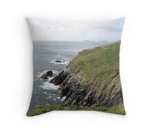 Rocky Coast of Ireland Throw Pillow