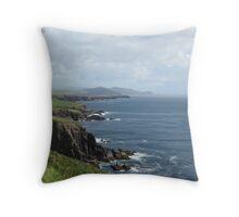 Coastline of Ireland Throw Pillow