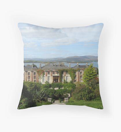 Bantry House Ireland Throw Pillow