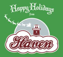 Haven - Happy Holidays Baby Tee