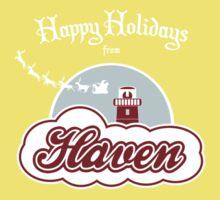 Haven - Happy Holidays Baby Tee