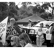People, Voices, Power Photographic Print