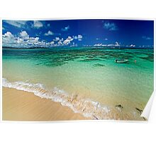 Tropical Shores - a beach in Hawaii Poster