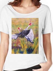 Brolga's Courtship Dance Women's Relaxed Fit T-Shirt