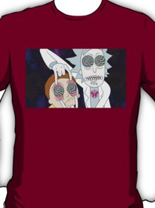 Rick and Morty Tripping T-Shirt