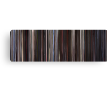 Moviebarcode: American Beauty (1999) Canvas Print