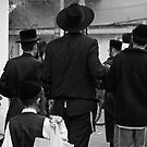Going to the synagogue on Purim day by JudyBJ