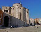 Church of St Donat, Zadar, Croatia by Margaret  Hyde