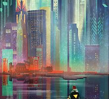 Transistor by Night by painted-bear