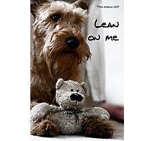 Lean on me Photographic Print