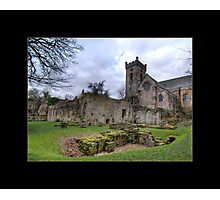 Culross Abbey Photographic Print