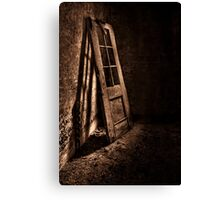 Knockin' At The Wrong Door Canvas Print