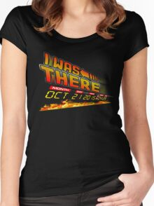 I was there .... Women's Fitted Scoop T-Shirt