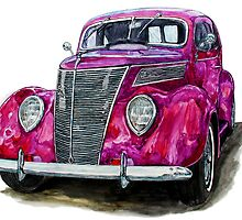 1937 Ford Hotrod by Ob-Art