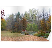 Autumn View - Michigan USA Poster