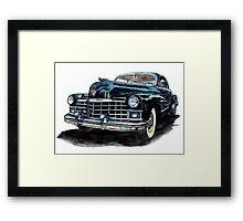 1947 Cadillac Framed Print