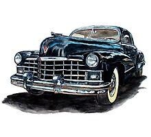 1947 Cadillac Photographic Print