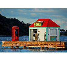 The fuel dock Photographic Print