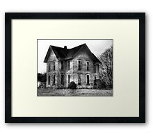 Sitting Empty  Framed Print