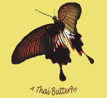 A Thai Butterfly Kids Tee