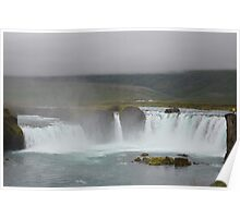 Goòafoss, Waterfall of the Gods, Iceland Poster