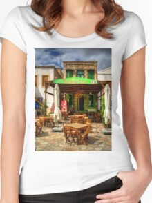 Remezzo's Restaurant Women's Fitted Scoop T-Shirt