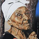 The little old lady from Port-au-prince by Colombe  Cambourne